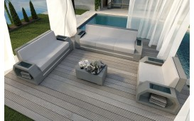 Rattan Lounge Set CLERMONT 3+2+1 v2
