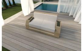 Rattan Lounge Sofa CLERMONT 2 Sitzer v2 NATIVO™ Möbel Schweiz