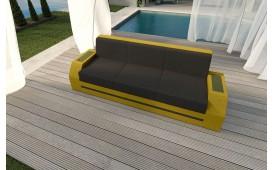 Rattan Lounge Sofa CLERMONT 3 Sitzer v2 NATIVO™ Möbel Schweiz