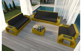 Set Lounge CLERMONT 3+2+1 v2 in rattan NATIVO™ Möbel Schweiz