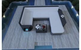 Divano Lounge AVENTADOR XL v2 in rattan