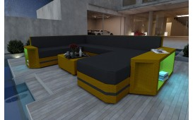 Divano Lounge AVENTADOR XXL v2 in rattan