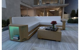 Designer Rattan Lounge Sofa AVENTADOR CORNER v2