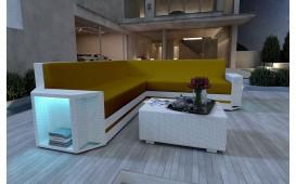 Canapé Lounge en rotin AVENTADOR CORNER v2