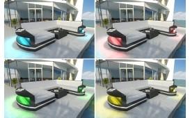 Rattan Lounge Set ATLANTIS 2+1+1 v1 von NATIVO™ Designer Möbel Schweiz