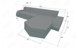 Canapé Lounge en rotin CLERMONT MINI v2