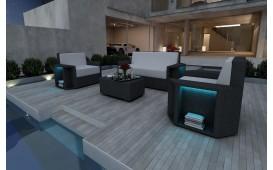 Rattan Lounge Set AVENTADOR  2+1+1 v1 NATIVO™ Möbel Schweiz