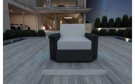 Rattan Lounge Sofa AVENTADOR 1 Sitzer v1