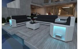 Lounge Set en rotin AVENTADOR 3+2+1