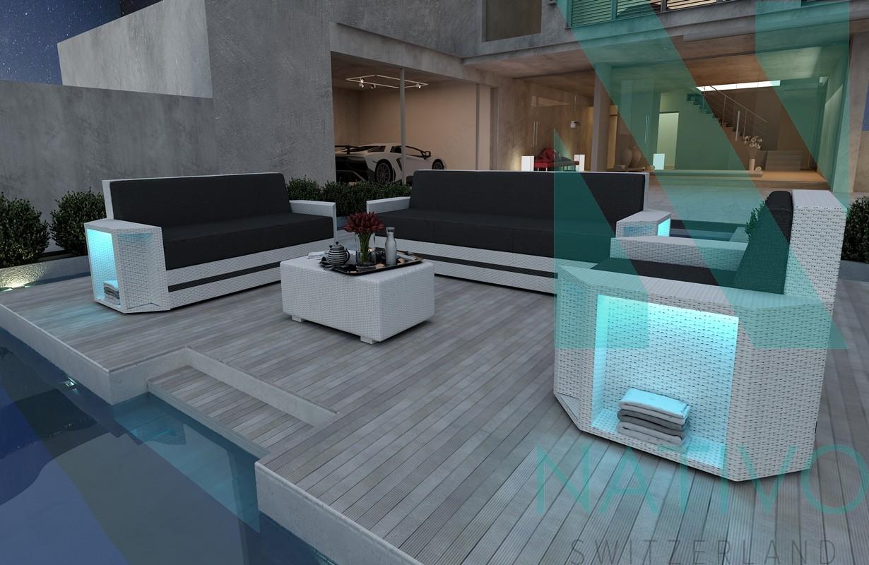 rattan sofa lounge modular clermont 3 2 1 in rattan von. Black Bedroom Furniture Sets. Home Design Ideas