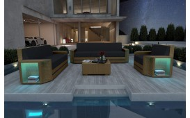 Lounge Set en rotin AVENTADOR 3+2+1 v2