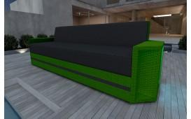 Rattan Lounge Sofa AVENTADOR 3 Sitzer v2 NATIVO™ Möbel Schweiz