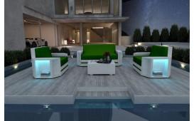 Rattan Lounge Set AVENTADOR  2+1+1 v2 NATIVO™ Möbel Schweiz