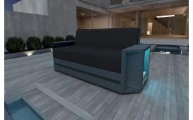 Canapé 2 places en rotin AVENTADOR v2