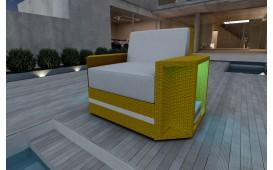 Poltrona Lounge AVENTADOR v1 in rattan