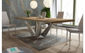 Designer Esstisch EXCALIBUR  aus Massivholz