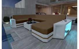 Divano Lounge AVENTADOR XXL v2 in rattan NATIVO™ Möbel Schweiz