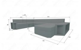 Designer Rattan Lounge Sofa AVENTADOR XXL v2 NATIVO™ Möbel Schweiz