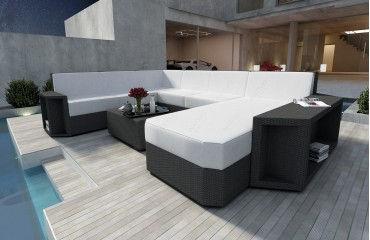 Designer Rattan Lounge Sofa AVENTADOR XXL v1 NATIVO™ Möbel Schweiz