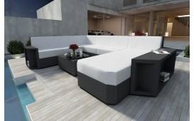 Designer Rattan Lounge Sofa AVENTADOR XXL v1