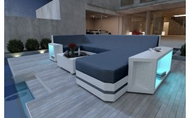 Canapé Lounge en rotin AVENTADOR XL