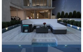 Designer Rattan Lounge Sofa AVENTADOR XL v1