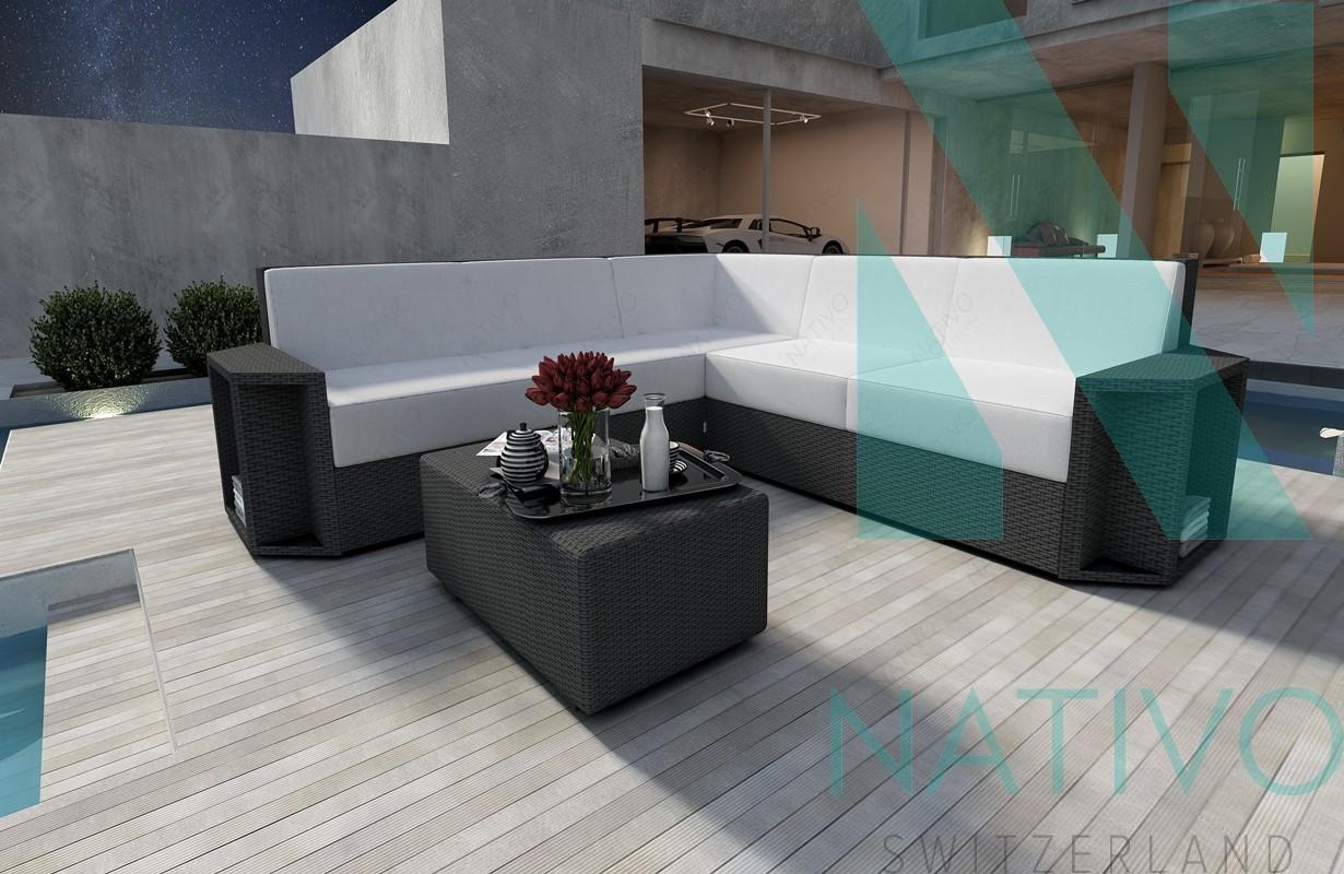 rattan sofa lounge modular aventador corner v1 von nativo. Black Bedroom Furniture Sets. Home Design Ideas