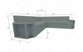 Designer Rattan Lounge Sofa AVENTADOR CORNER v1 NATIVO™ Möbel Schweiz