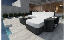 Designer Rattan Lounge Sofa AVENTADOR MINI v1