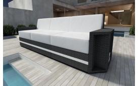 Rattan Lounge Sofa AVENTADOR 3 Sitzer