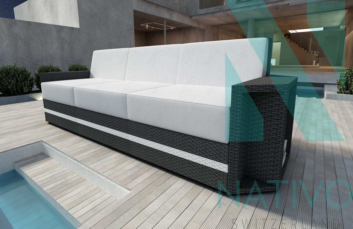rattan lounge sofa aventador v2 in rattan von nativo m bel. Black Bedroom Furniture Sets. Home Design Ideas