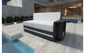 Rattan Lounge Sofa AVENTADOR 2 Sitzer
