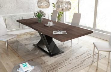 Designer Esstisch AVALON v.2 aus Massivholz NATIVO™ Möbel Schweiz