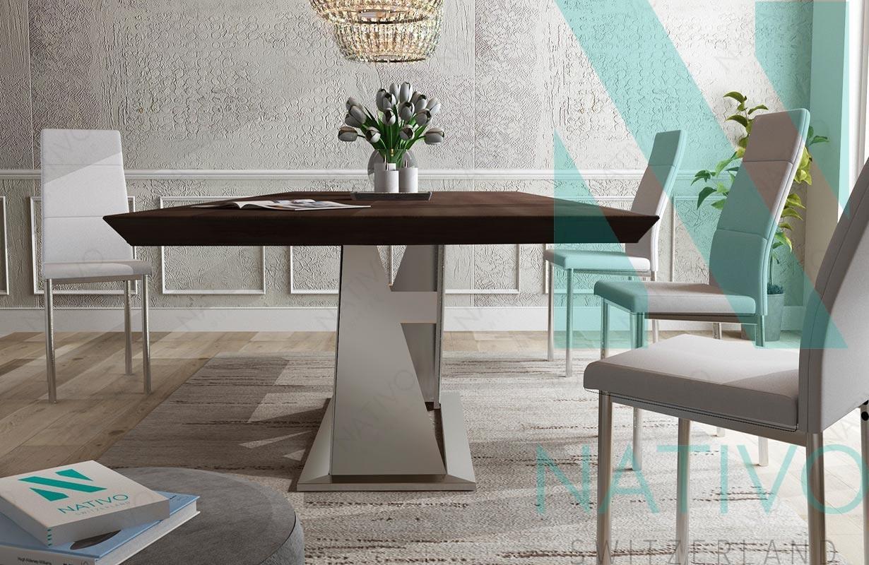 Designer Massivholz Esstich Avalon V 1 Von Nativo M Bel