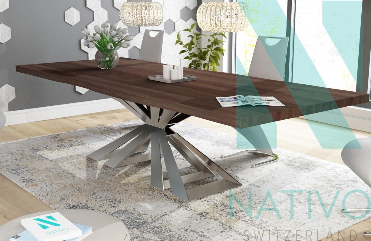 table design arthur nativo mobilier design suisse. Black Bedroom Furniture Sets. Home Design Ideas