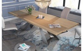 Designer Esstisch CAMELOT v.3 aus Massivholz NATIVO™ Möbel Schweiz
