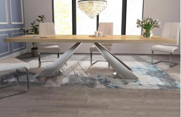 Designer massivholz esstich camelot v 3 von nativo m bel for Designer esstisch outlet