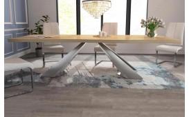 Designer Esstisch CAMELOT aus Massivholz