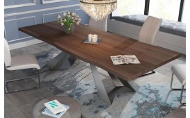 Designer Esstisch CAMELOT v.2 aus Massivholz NATIVO™ Möbel Schweiz