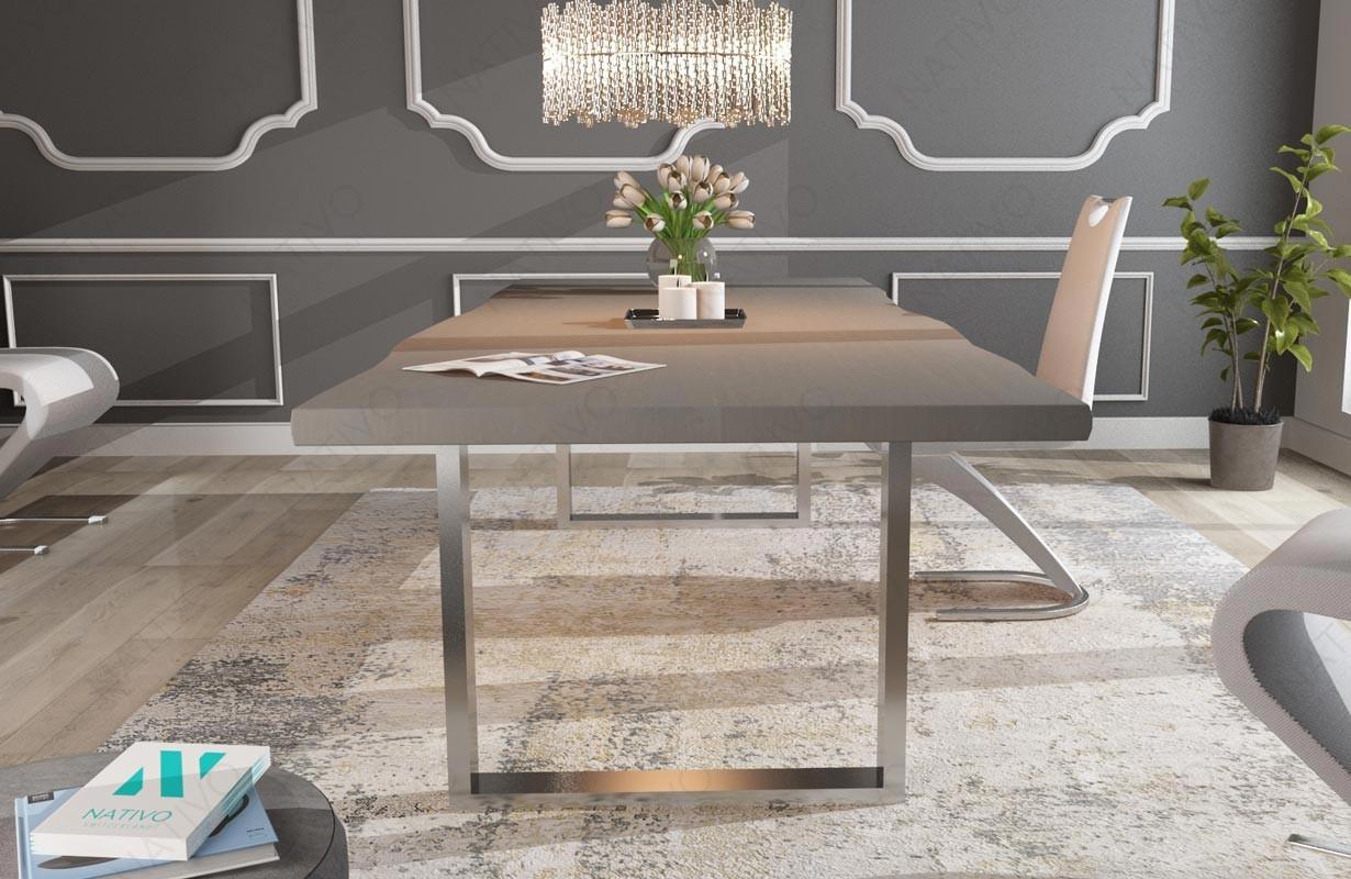 Table design marlin v 2 nativo mobilier design suisse for Mobilier en suisse