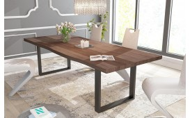 Designer Esstisch MARLIN v.1 aus Massivholz NATIVO™ Möbel Schweiz