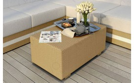 Table basse en rotin MIRAGE