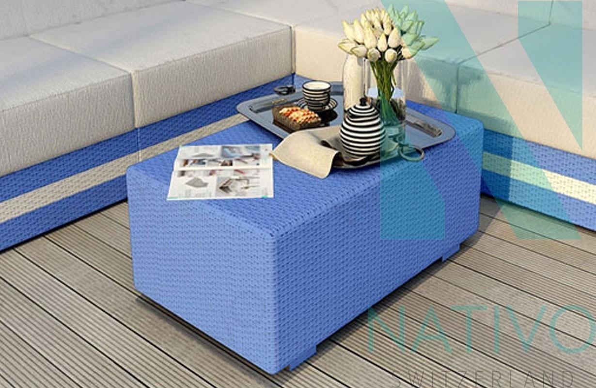 Design Rattan Couchtisch AVENTADOR bei NATIVO Möbel Schweiz günstig