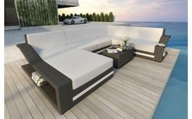 Designer Rattan Lounge Sofa MIRAGE XXL