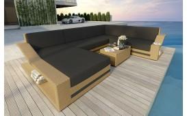 Designer Rattan Lounge Sofa MIRAGE XXL NATIVO™ Möbel Schweiz