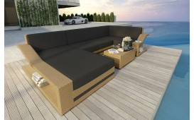 Designer Rattan Lounge Sofa MIRAGE XL NATIVO™ Möbel Schweiz