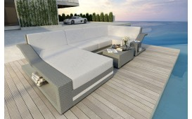 Divano Lounge MIRAGE XL in rattan