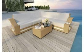 Canapé Lounge en rotin MIRAGE CORNER