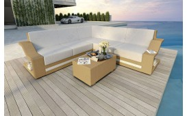 Designer Rattan Lounge Sofa MIRAGE CORNER