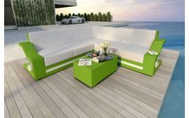 Divano Lounge MATIS CORNER in rattan NATIVO™ Möbel Schweiz